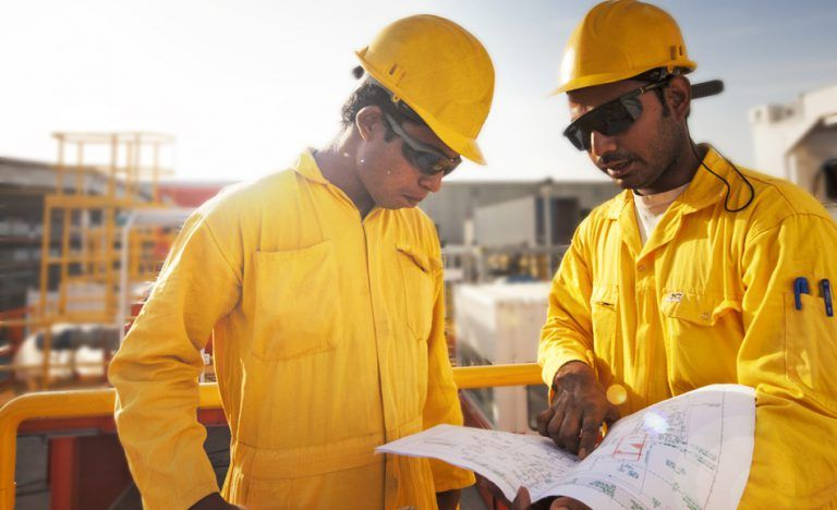 The acid operation of the wells of platform B of phase 14 of South Pars was completed